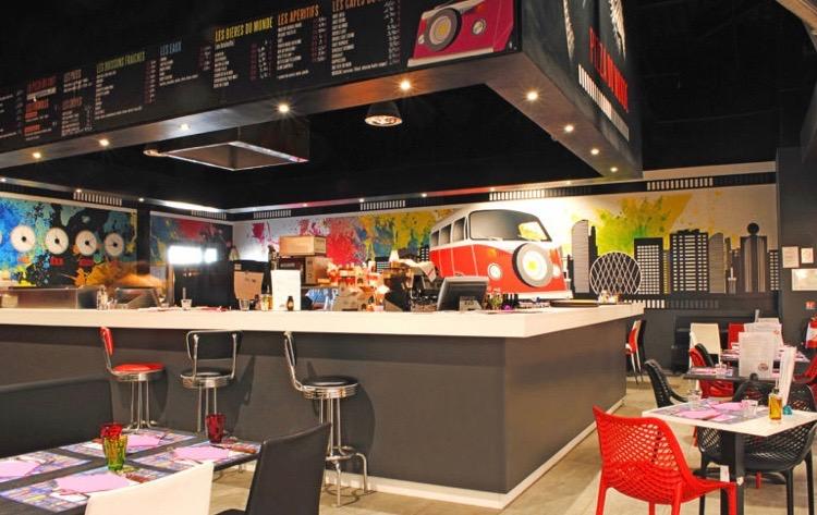 Vente Pizzeria à Thonon-les-Bains emplacement N°1, dans un centre commerciale (74200)