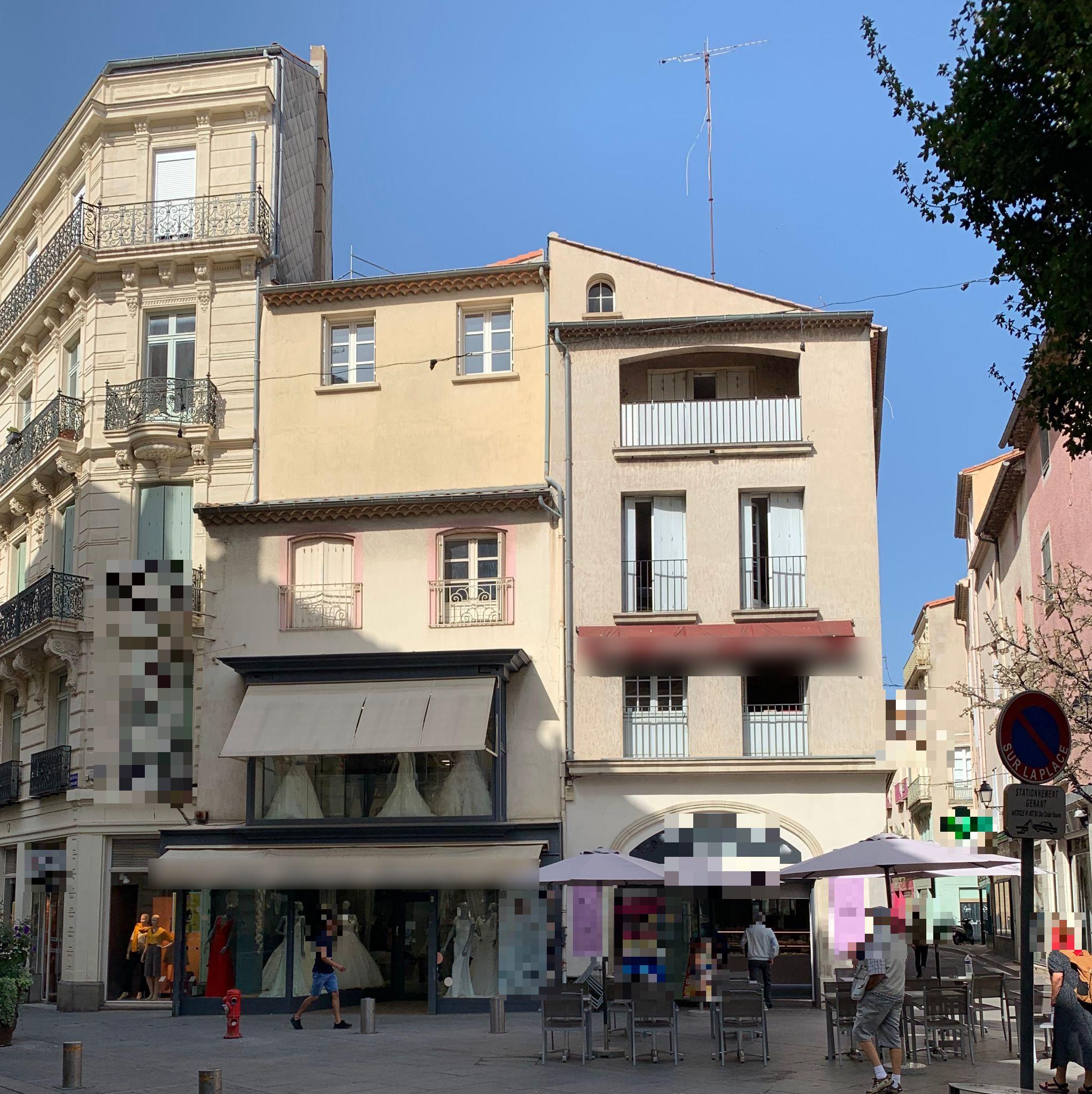 Vente Immeuble composé d'une boulangerie, pâtisserie avec atelier à Béziers dans une rue commerçante (34500)