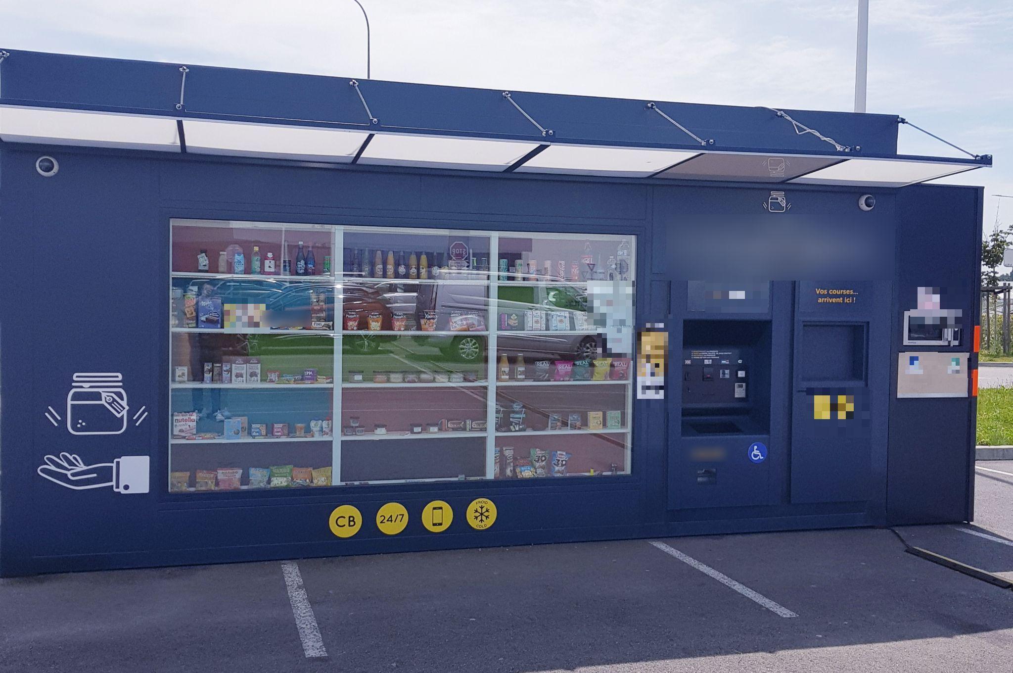 Vente Kiosque automatique en Vendée (85)