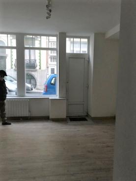 Vente Rez commercial / Bureau de 35m² avec une cave à Ixelles proche des institutions européennes
