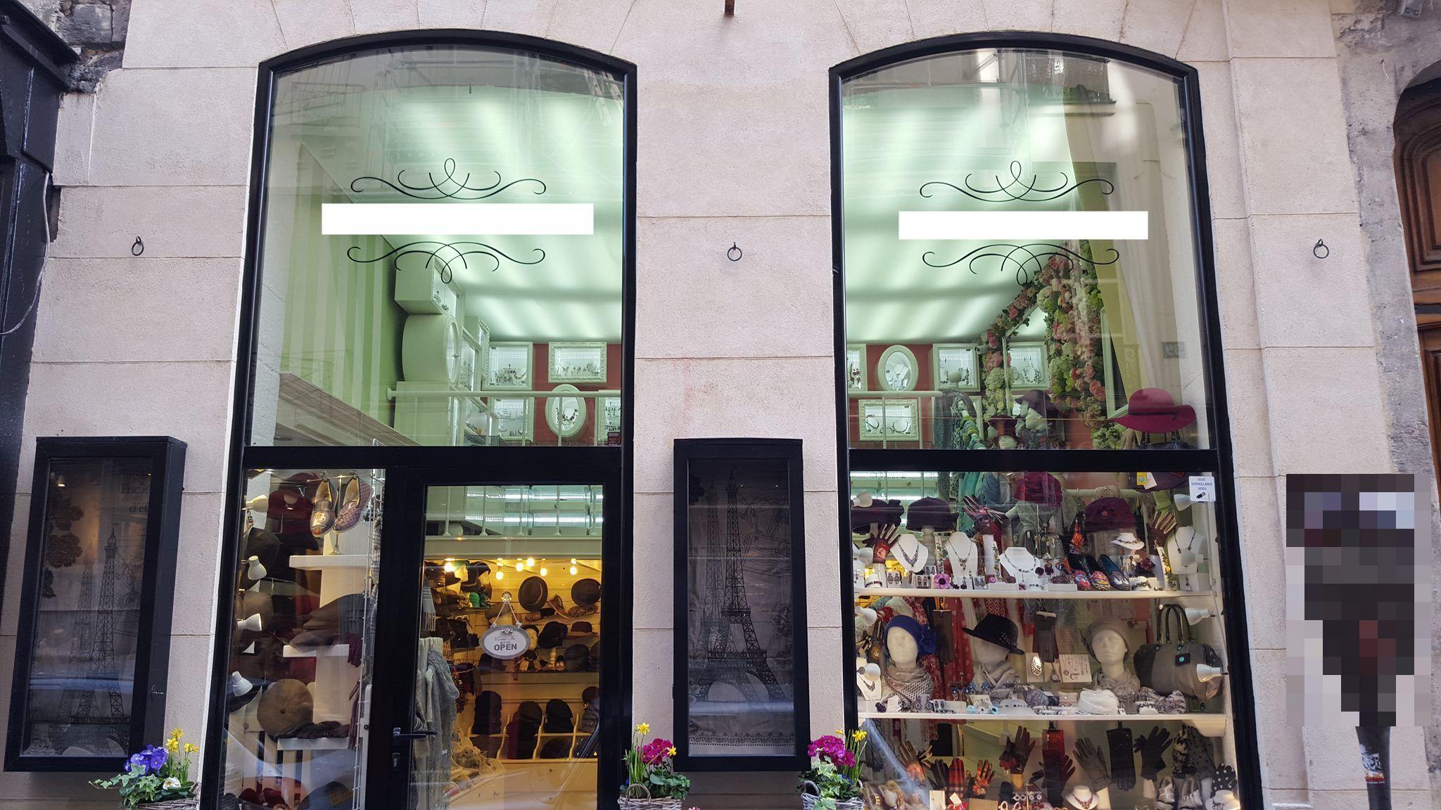 Vente Prêt-à-porter et accessoires - vente au détail Paris (75004), dans un quartier commerçant, attractif et touristique