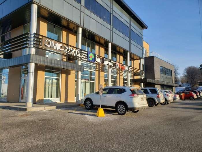 Vente Bureaux actuellement aménagé pour une clinique médicale dans le quartier de Charlesbourg à Québec
