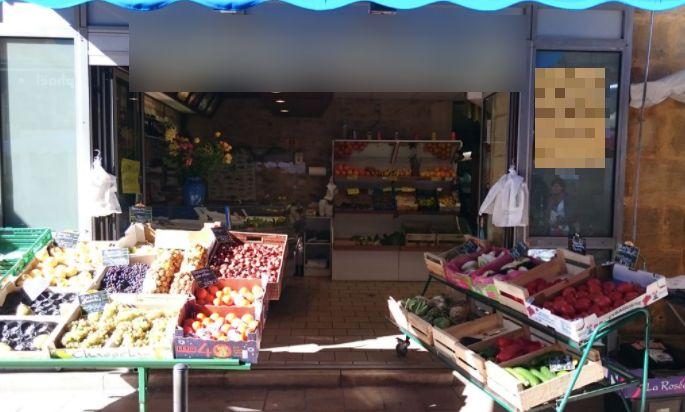 Vente Primeur, Fruits et légumes, Epicerie, Alimentation, Crémerie à Sarlat-la-Canéda dans une rue commerçante (24200)