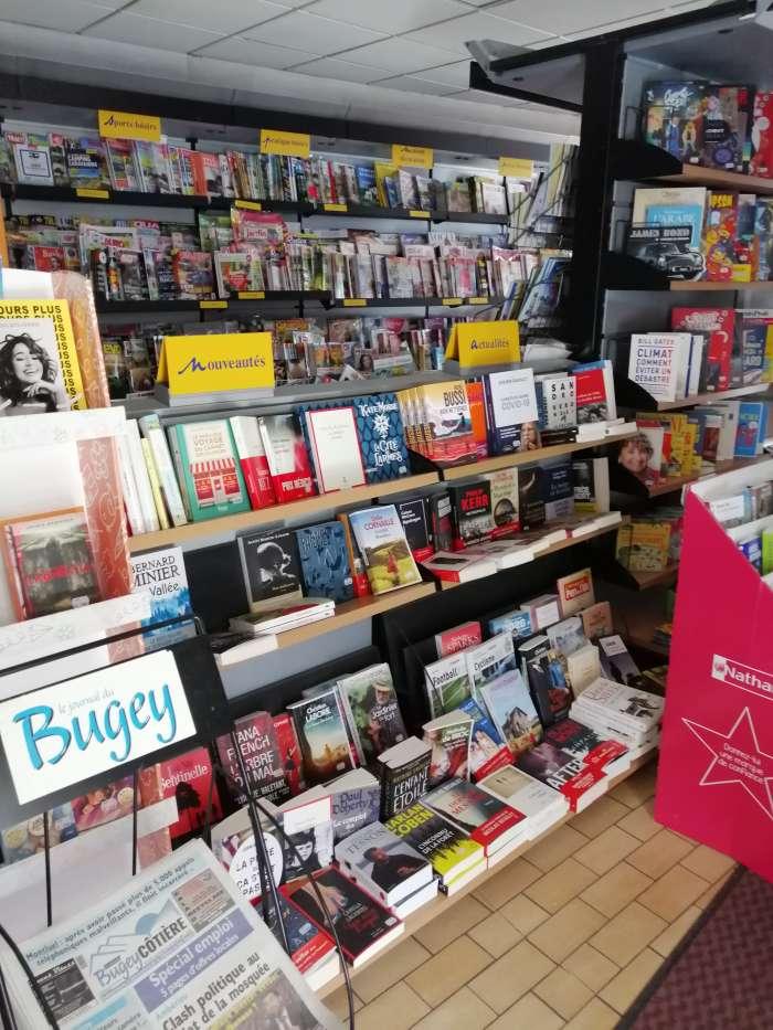 Vente Presse, librairie, grattage, loto, papeterie, carterie, confiserie, relais colis dans l' Ain (01)