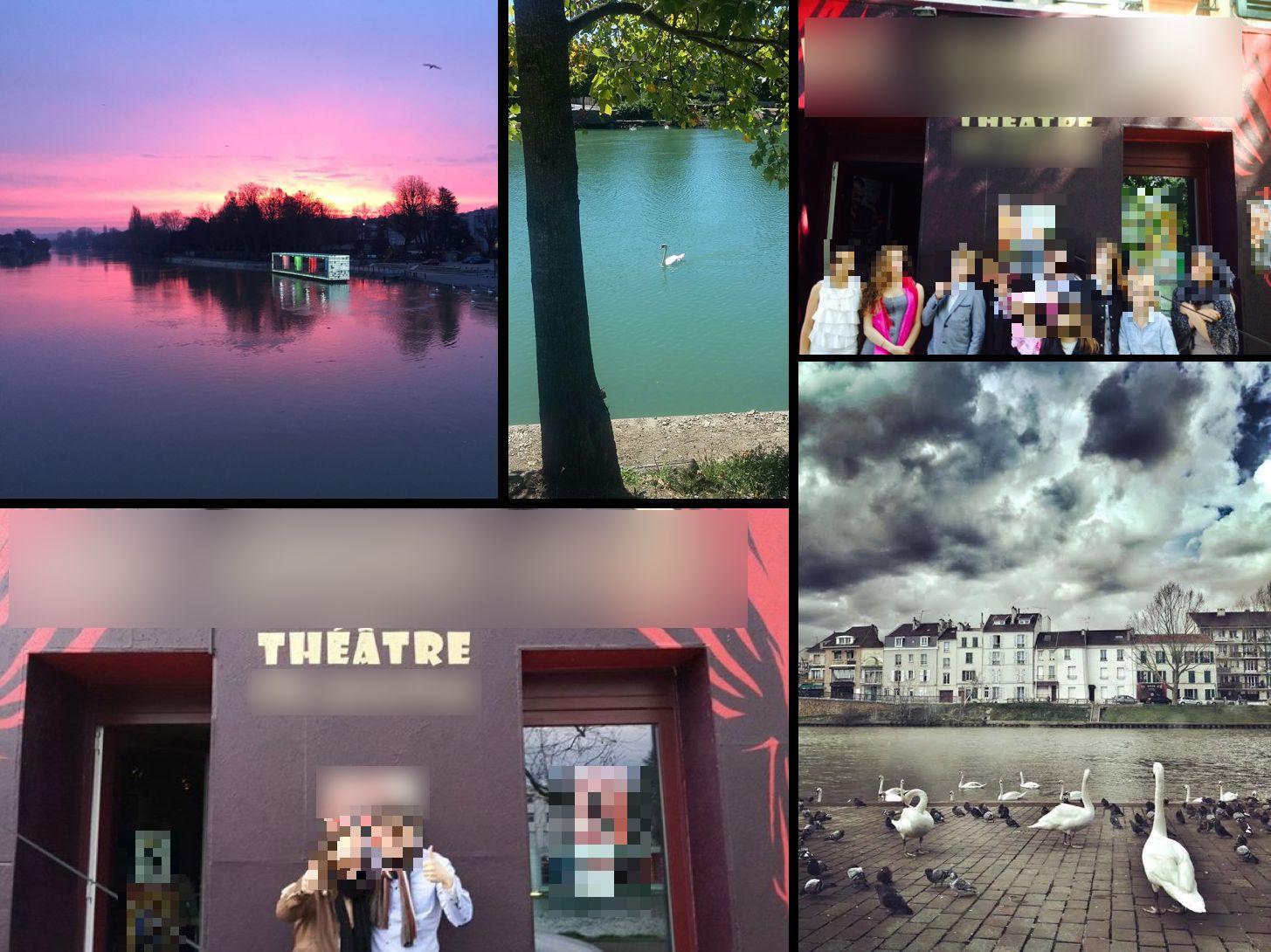 Vente Théâtre ou développement personnel avec belle vue sur la Marne