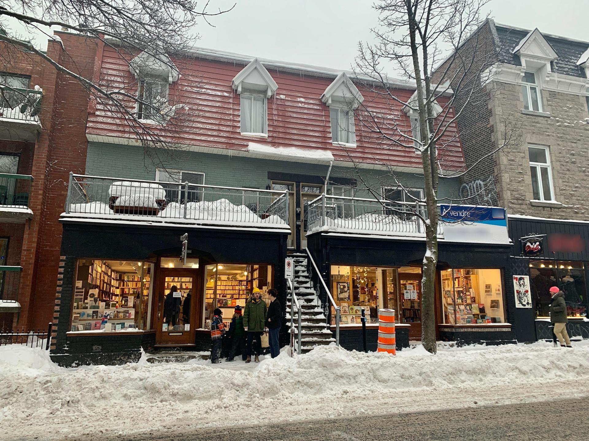 Vente Bâtisse commerciale (et résidentielle), 124 m2 à Montréal situé Plateau Mont-Royal