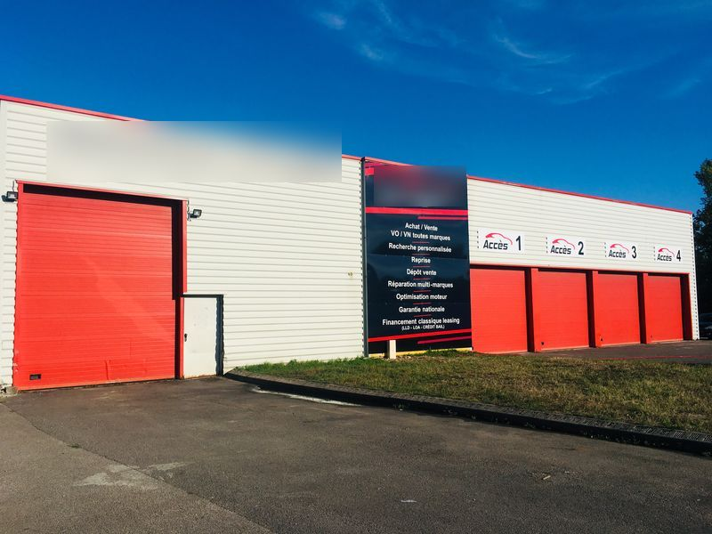Vente Vente de véhicules VO / VN + atelier mécanique à Bletterans dans une zone commerciale (39140)