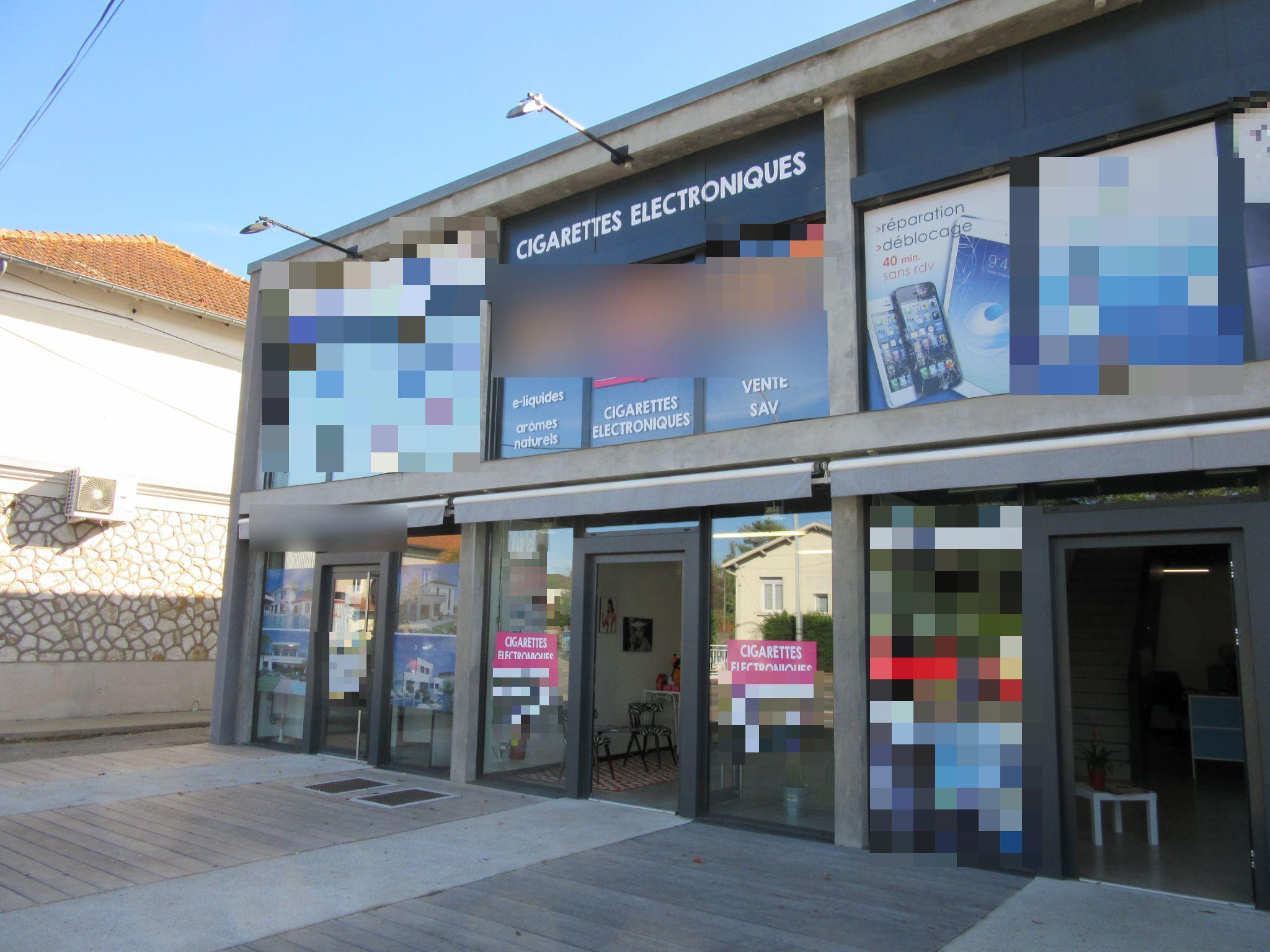 Vente Cigarettes électroniques - 2 boutiques indépendantes à Montauban dans une zone commerciale (82000)