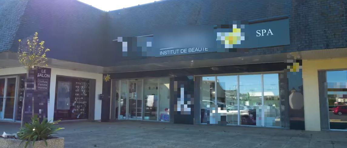 Vente Institut spa à Plédran dans un centre commercial avec supermarché (22960)