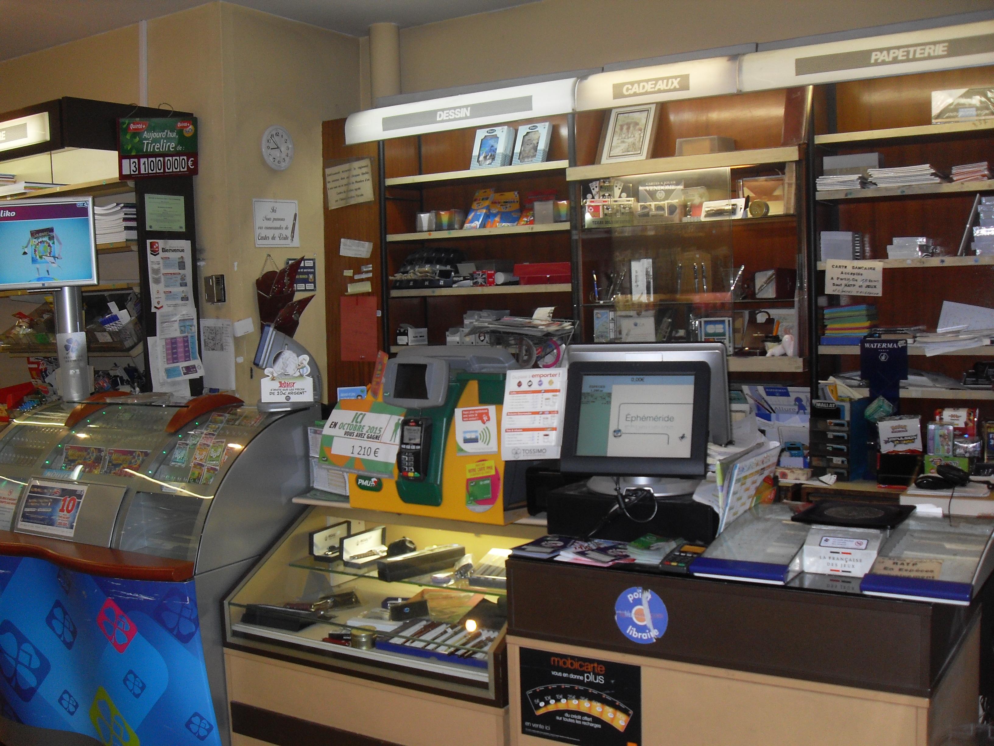 Vente Local commercial Carterie, Librairie, Loto, Papéterie, PMU, Presse, 90 m2 à L'Hay-les-Roses (94240)