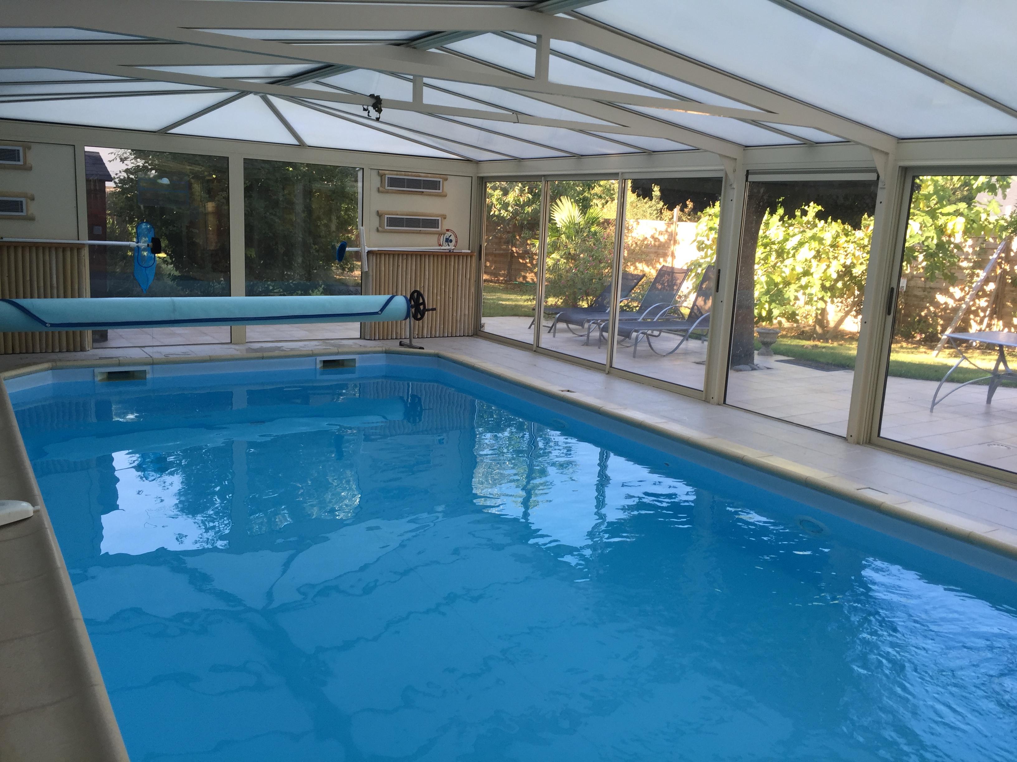 Vente Gîte avec piscine couverte chauffée  au cœur des châteaux de la Loire, 240 m2 près de Tours (37100)