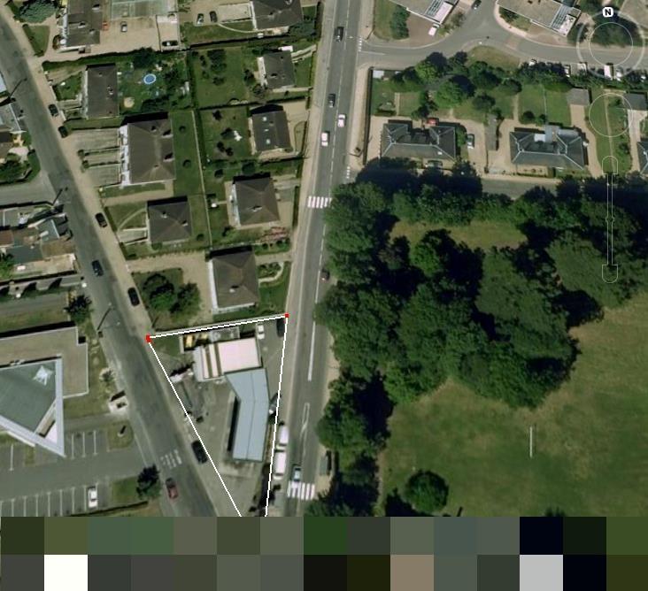 Vente Station lavage, station service, location véhicules ; droit au bail, 850 m2 à Louviers (27400)